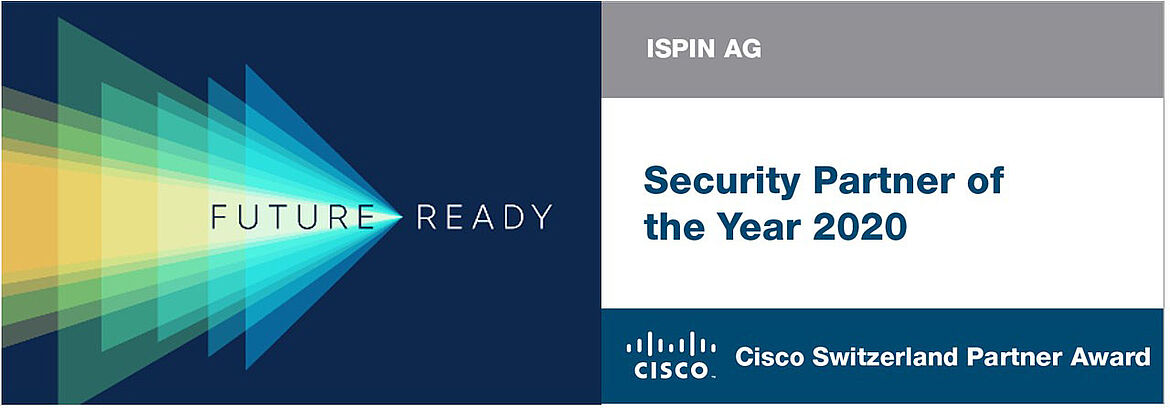 Cisco Security Partner Award of the Year 2020