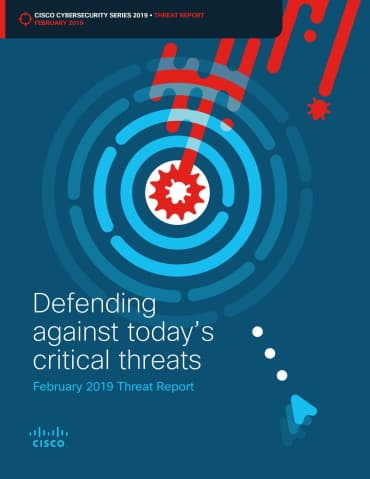 ISPIN Cyber Security Partner Cisco Threat Report 2019